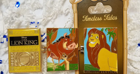 Lion King Pin Front Open