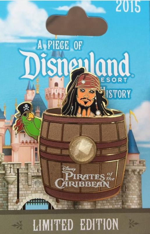 Pirates of the Caribbean PODH Pin 2015
