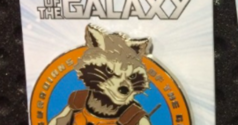 Rocket Raccoon Disney Pin