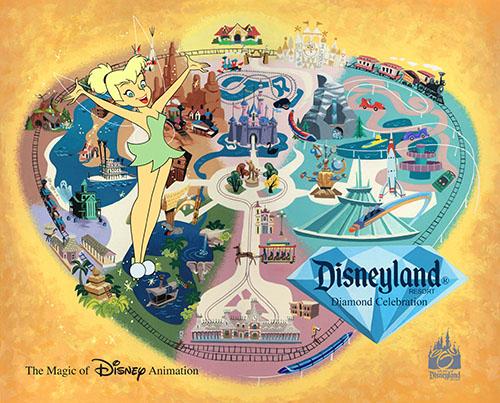 Tinker Bell Disneyland Ink & Paint Cel 2015