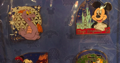Walt Disney World® Resort Pin Set 2015