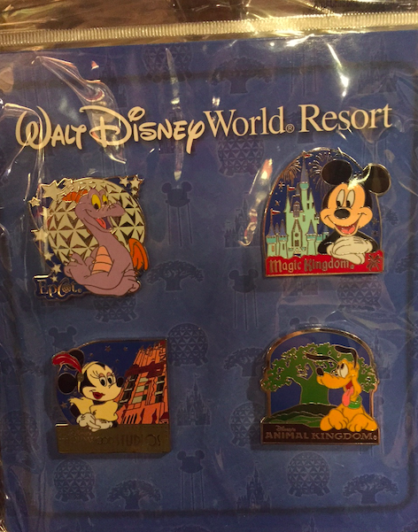 Walt Disney World® Resort Pin Set 2015