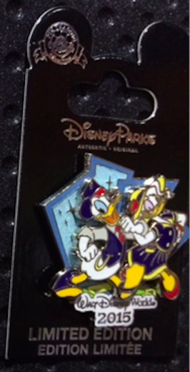 1950's Donald Duck and Daisy Duck Pin