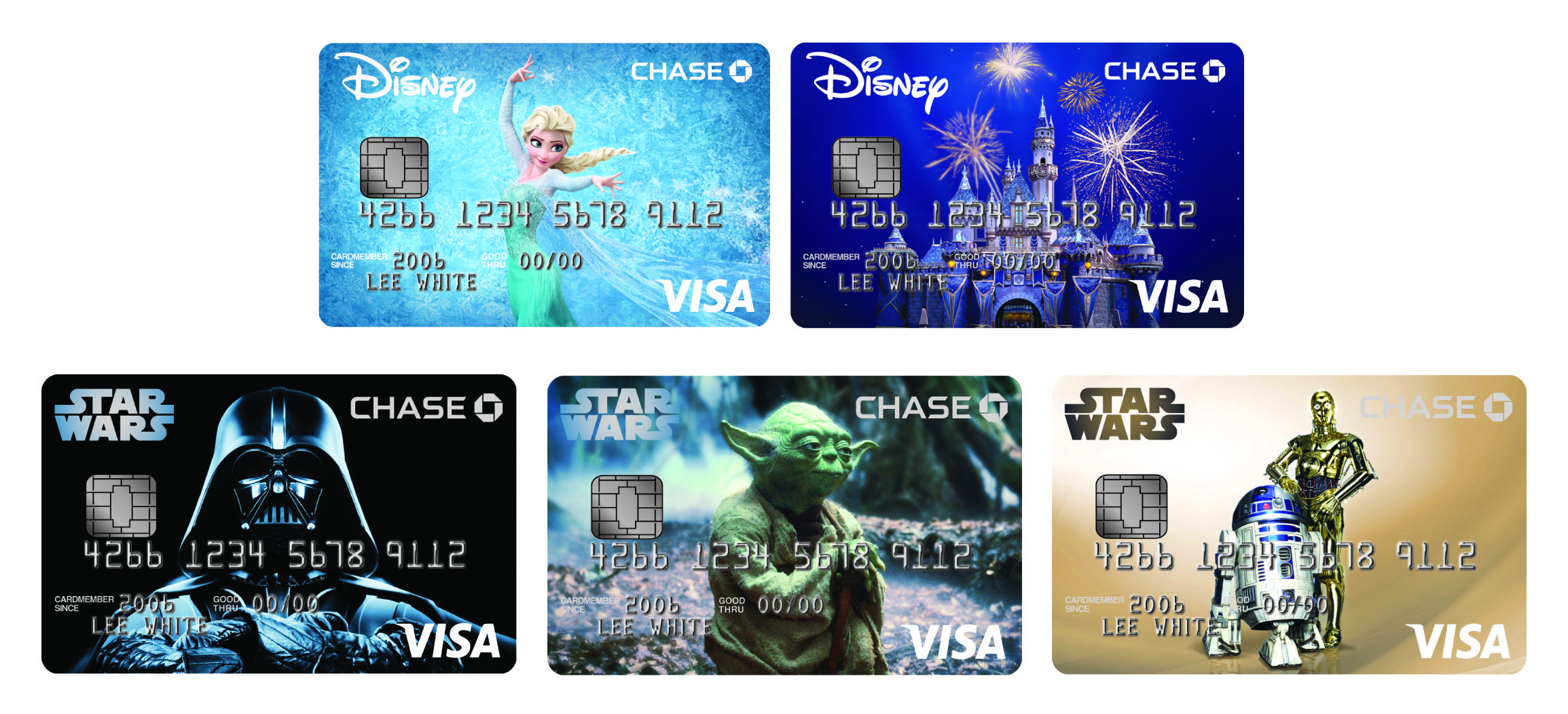 New Disney Visa Credit Card Designs - Disney Pins Blog