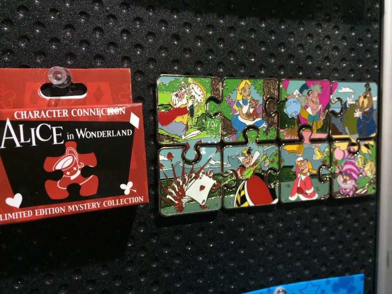 Alice in Wonderland Mystery Pin Collection 2015