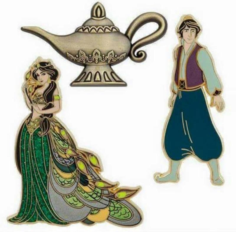 Art of Jasmine Pin Set - Disney Store