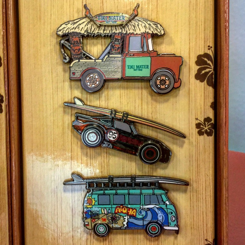 D23 Expo 2015 Pixar Cars Pin Set