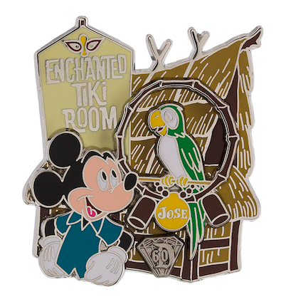 Diamond Decades Enchanted Tiki Room Pin