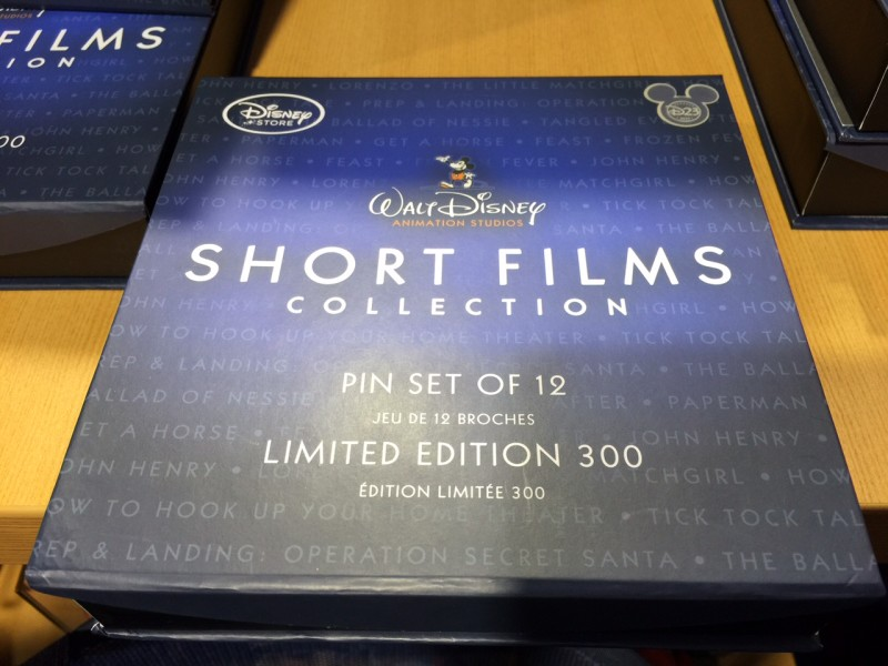 Disney Short Films Collection Pins - D23 EXPO 2015