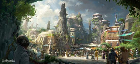 Disney Star Wars Land