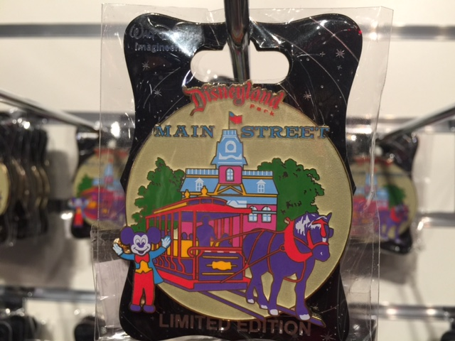 Disneyland Retro Main Street Pin 2015