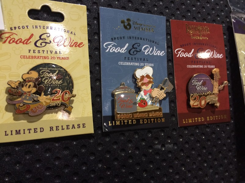 Epcot Food & Wine Festival 2015 Pins