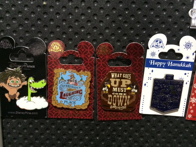 Good Dinosaur and New Splash Mountain Disney Pins 2015