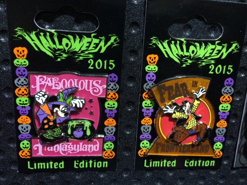Halloween 2015 Limited Edition Disney Pins
