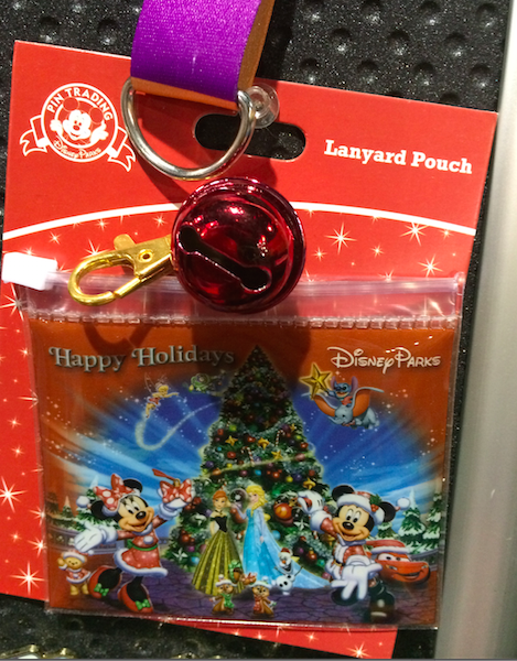 Happy Holidays Disney Lanyard Pouch 2015
