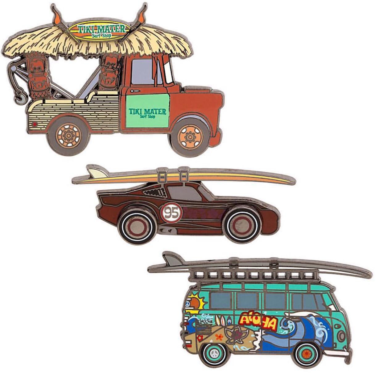 D23 Expo 2015 Pixar Cars Pin Set