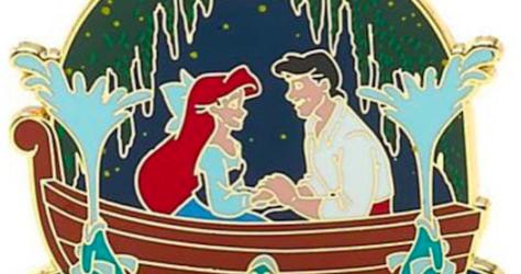 Kiss the Girl Pin - Disney Store UK