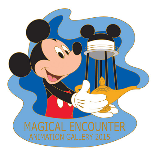 Magical Encounter Disney Pin 2015