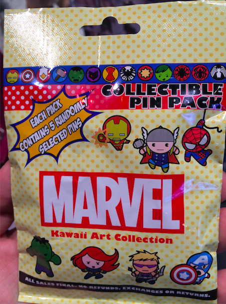 Marvel Collectible Pin Pack 2015