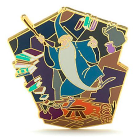 Merlin Pin 2015 - Disney Store UK