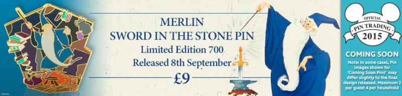 Merlin Sword in the Stone PIn 2015