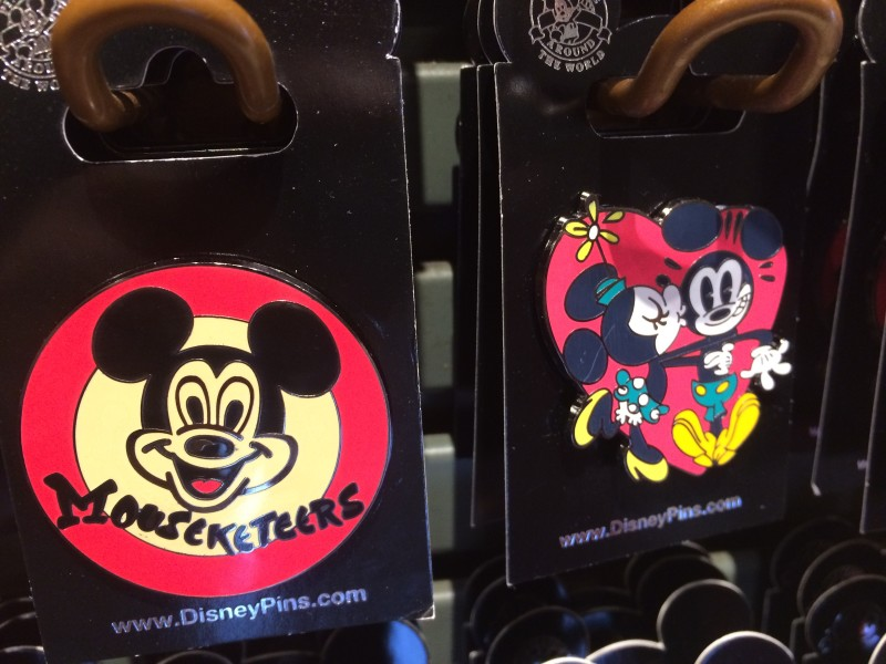 Mouseketeers Pin