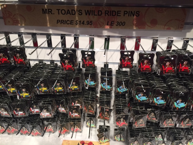 Mr. Toad's WIld Ride Pins - Mickey's of Glendale