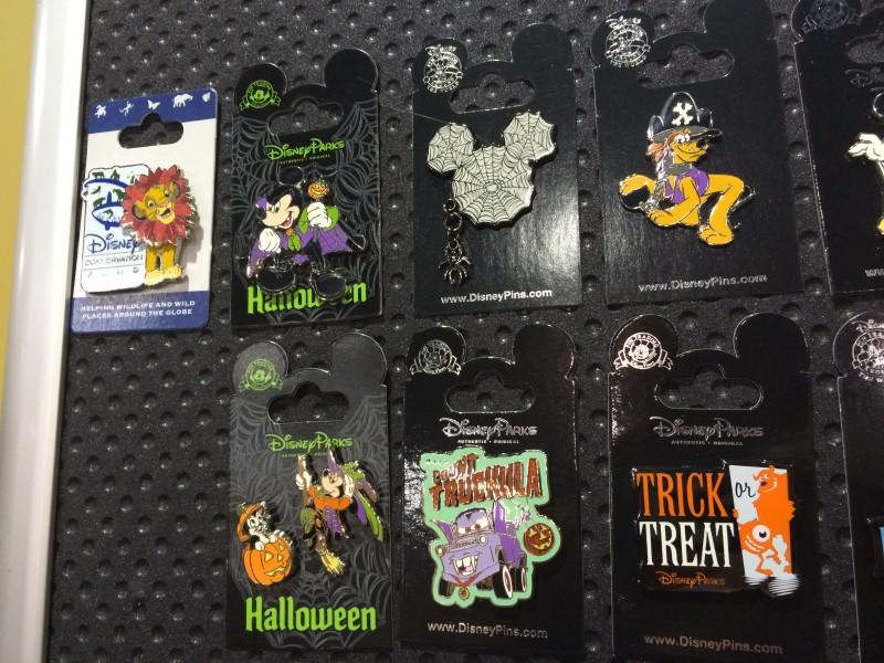 New Halloween Disney Pins 2015