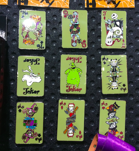 Nightmare Before Christmas Mystery Pin Collection 2015