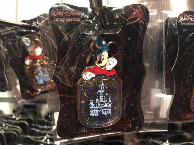 Sorceror Mickey Mouse Pin - WDI 2015