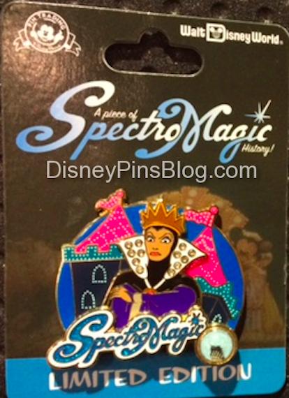 SpectroMagic Evil Queen Disney Pin