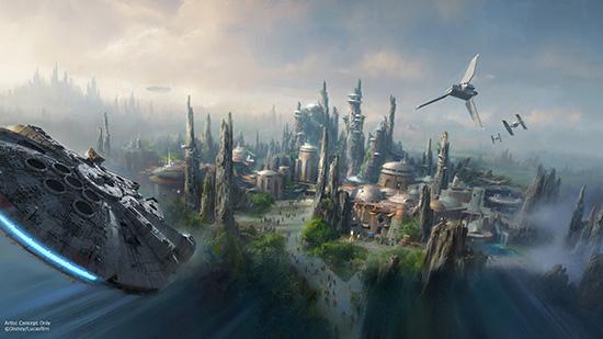 Star Wars Land - Disney Parks