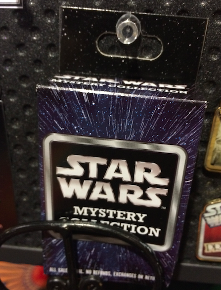 Star Wars Mystery Pin Collection 2015 Box