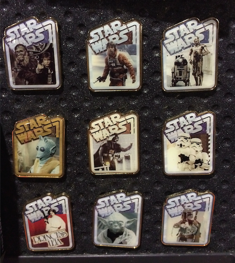 Star Wars Mystery Pin Collection Pins 2015