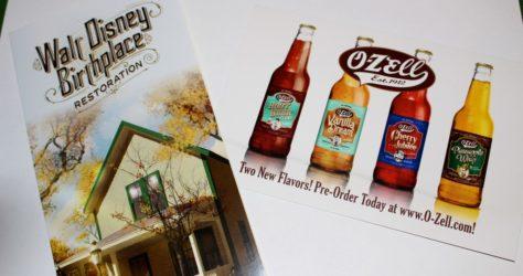 The Walt Disney Birthplace & O-Zell Soda