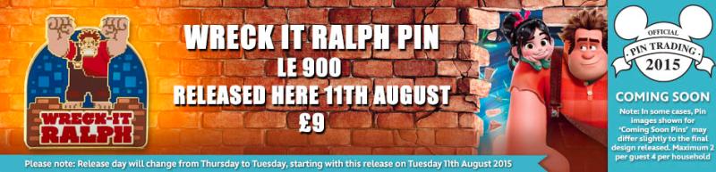 Wreck-It Ralph Pin - Disney Store UK