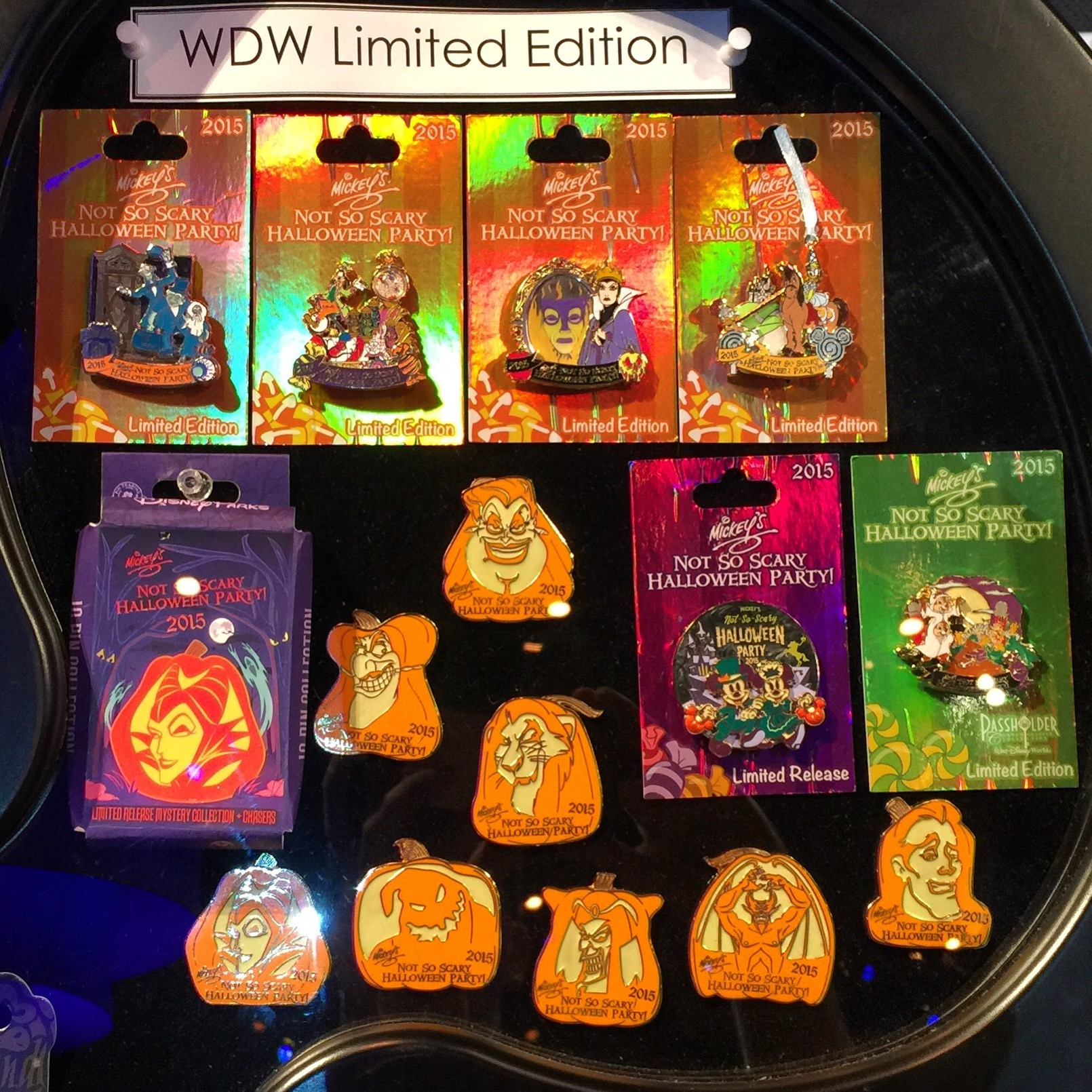 Mickeys Not So Scary Halloween Party 2020 Pins 2015 Mickey's Not So Scary Halloween Party Pins   Disney