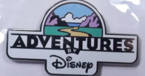 Adventures by Disney Logo Pin