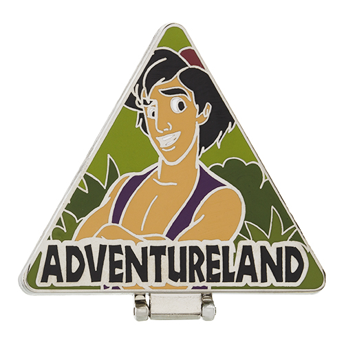 Aladdin Adventureland Pin 2015