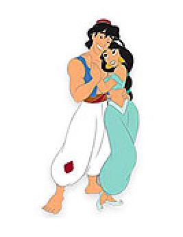 Aladdin VIP Disney Pin