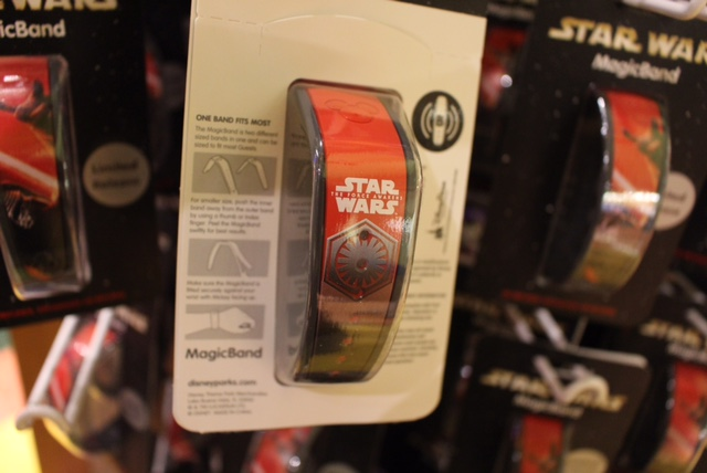 Back of Star Wars The Force Awakens MagicBand