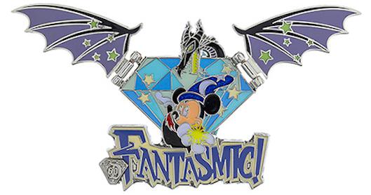 Diamond Decades Fantasmic Pin