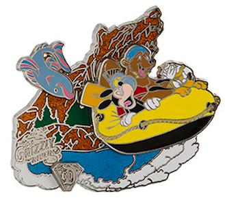 Diamond Decades Grizzly River Run Pin