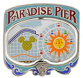 Diamond Decades Paradise Pier Pin