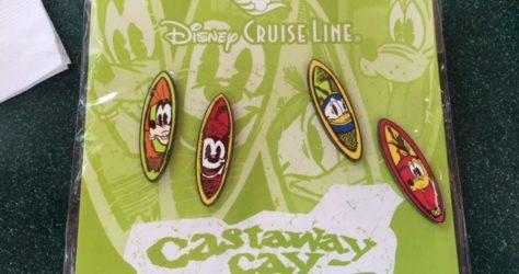 Disney Cruise Line Castaway Cay Pin Set