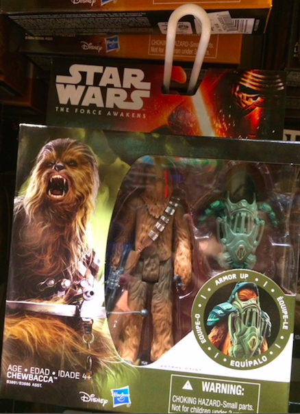Disney Star Wars Action Figure - Chewbacca