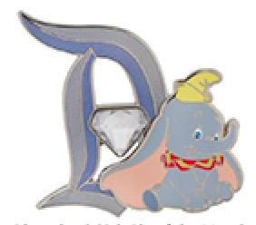 Disneyland 60th Dumbo Pin