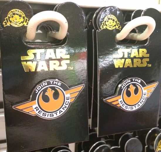 Join the Resistance Star Wars Pin
