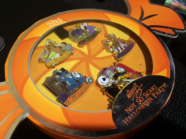Limited Edition MNSSHP Boxed Pin Set 2015