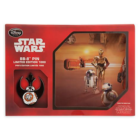 Limited Edition Star Wars BB-8 Pin